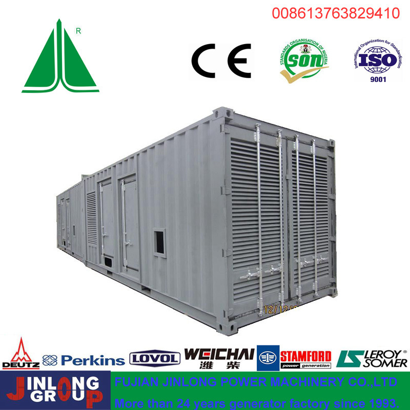 800kVA/640kw Container Type Soundproof Cummins Diesel Genset