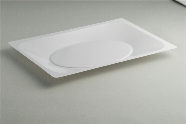 Shape 4 Easylife Various Disposable PS Plastic Square Plate
