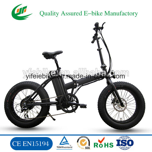 Big Power High Speed Fat Tire 4.0 Snow Beach Electric Foldable Bicycle