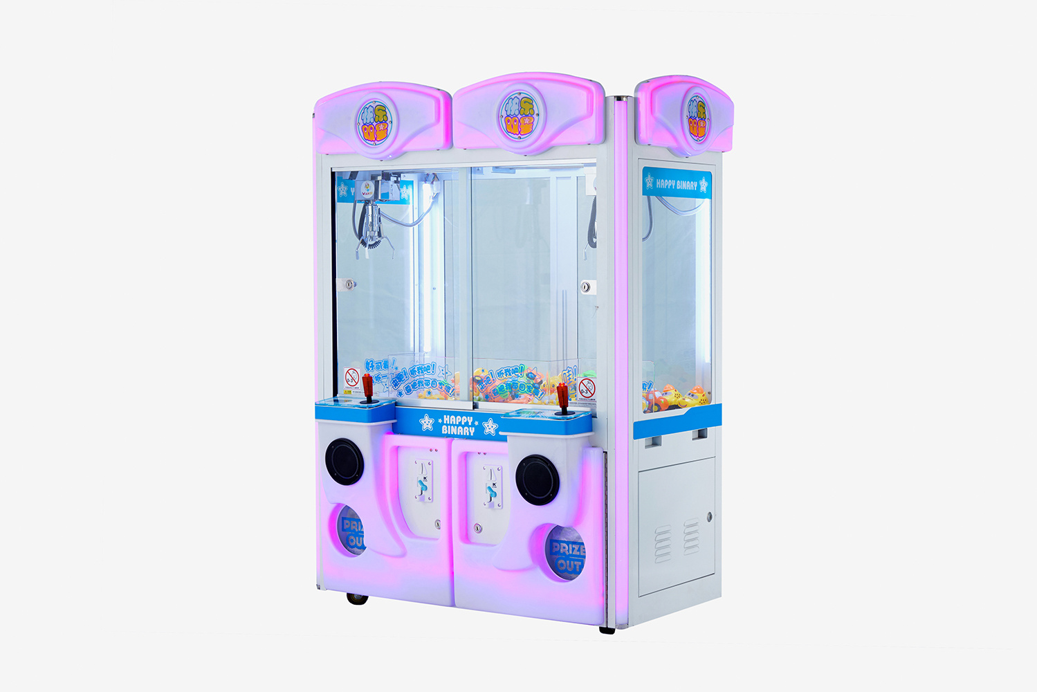 Indoor Game Double Claw Crane Machine for Sale