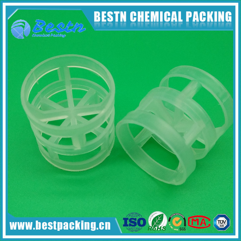 Plastic Pall Ring in PP, PE, PVC, PVDF Material as Tower Packing