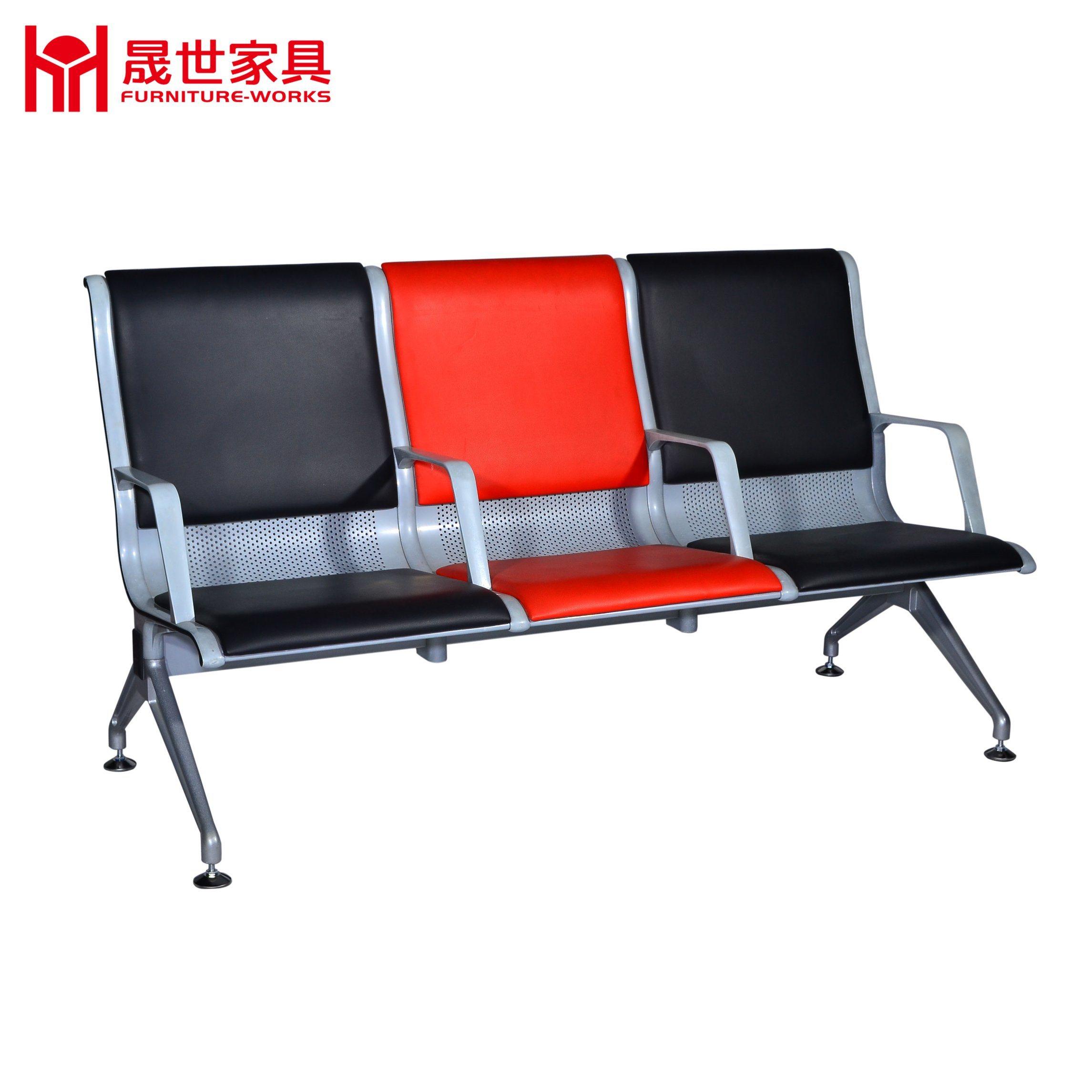 Modern Design Aluminum Alloy Public Waiting Chair / Airport Waiting Chairs / Waiting Room Chairs