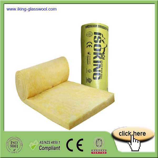 High Quality Glass Wool Blanket for Prefabricated House