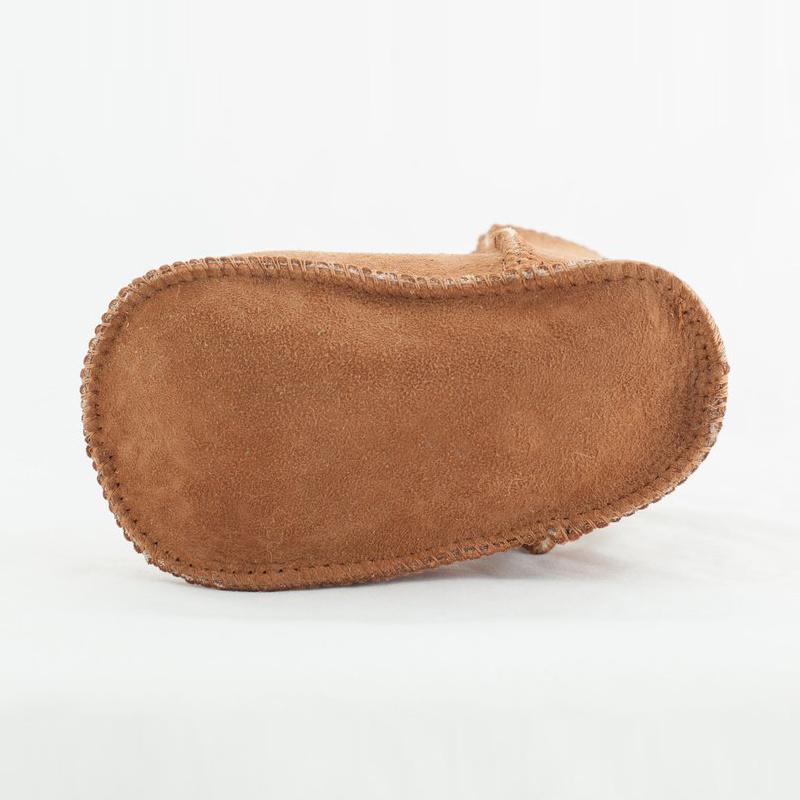 Australia Merino Sheepskin Booties Baby Bootie Chestnut