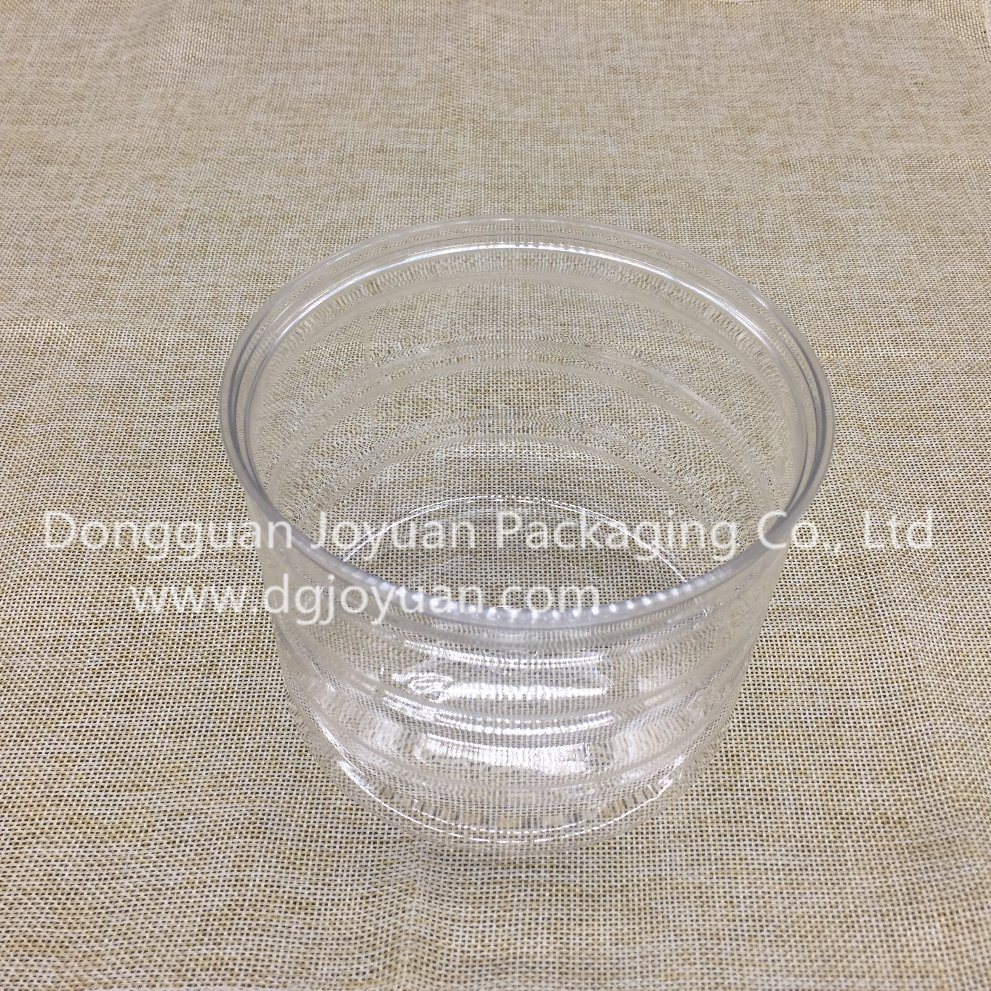 Pet Plastic Container Easy Open Can D126*H100mm