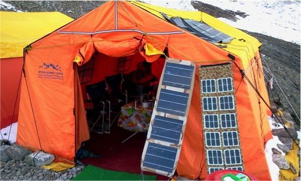 300W Portable Solar Generator for Climbing, Exploring, Rescuing
