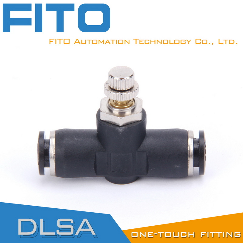 Lsa PA Flow Control Pneumatic Fittings for Airtac Type