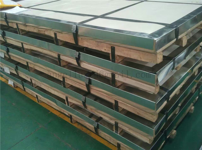 China Factory Price 201 No. 4 Hairline Finshed Stainless Steel Sheet Plate with PVC Film
