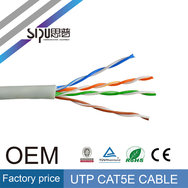 Sipu Low Price Fluke Test Cat5e UTP Network LAN Cable