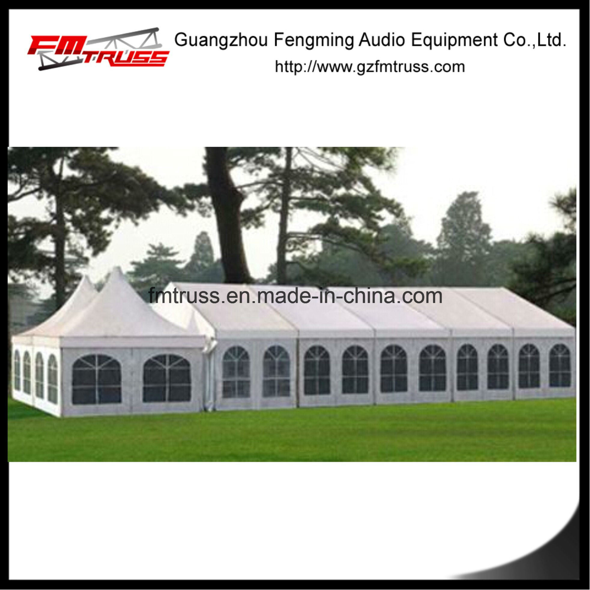 Large Aluminum Frame Party Tent for Marquee Exhibition Made in Guangzhou Fastup Marqueen Tent
