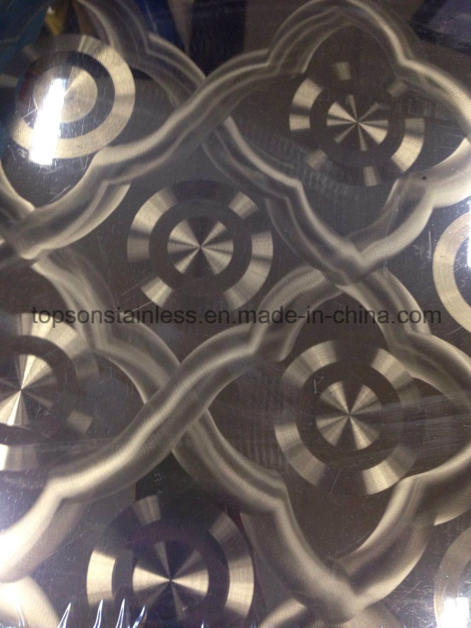 201 304 316 Decorative Stainless Steel Plate with Laser Finish