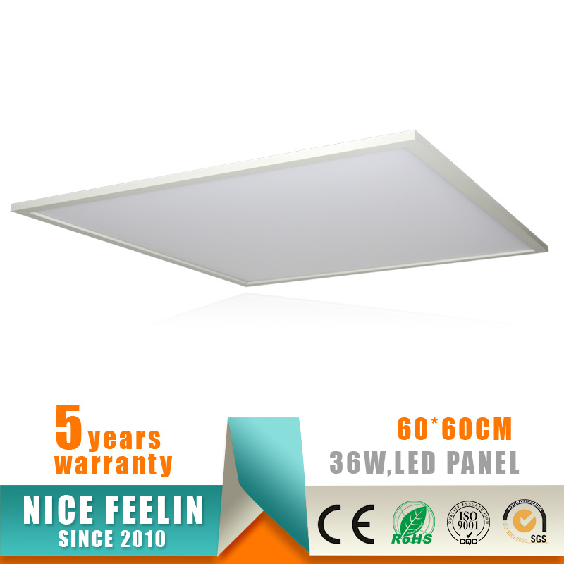 100lm/W 595X595/600X600mm 40W LED Panel Light with Ce Approval
