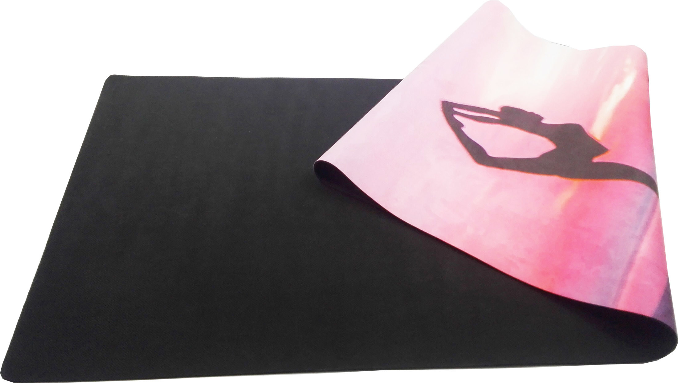 Customized Pattern Printed Yoga Mat Non-Slip Microfiber Mat