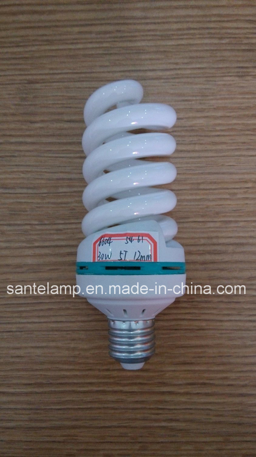 30W 40W Full Spiral CFL with Ce, Good Quality Cheap Price