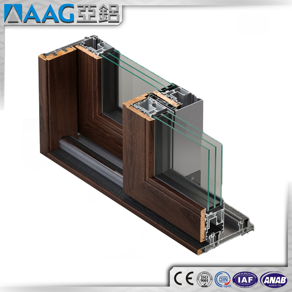 Aluminum/Aluminium Profile for Doors and Windows
