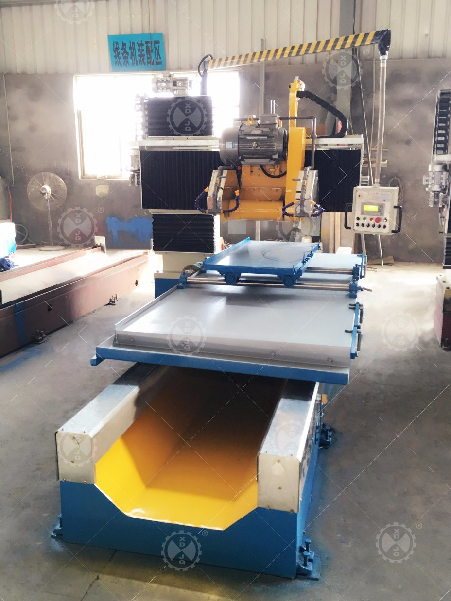 Cnfx-1300 Marble Granite CNC Profiling Linear Stone Cutting Machine
