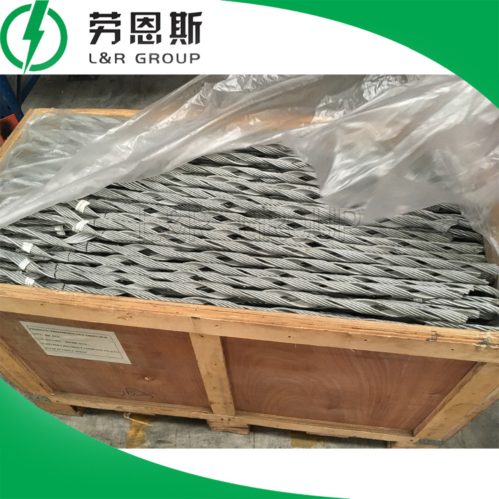 Preformed Guy Grips/Dead End Tension Clamps/Heliformed Clamps/Galvanized Steel Strand for Adsr Cable