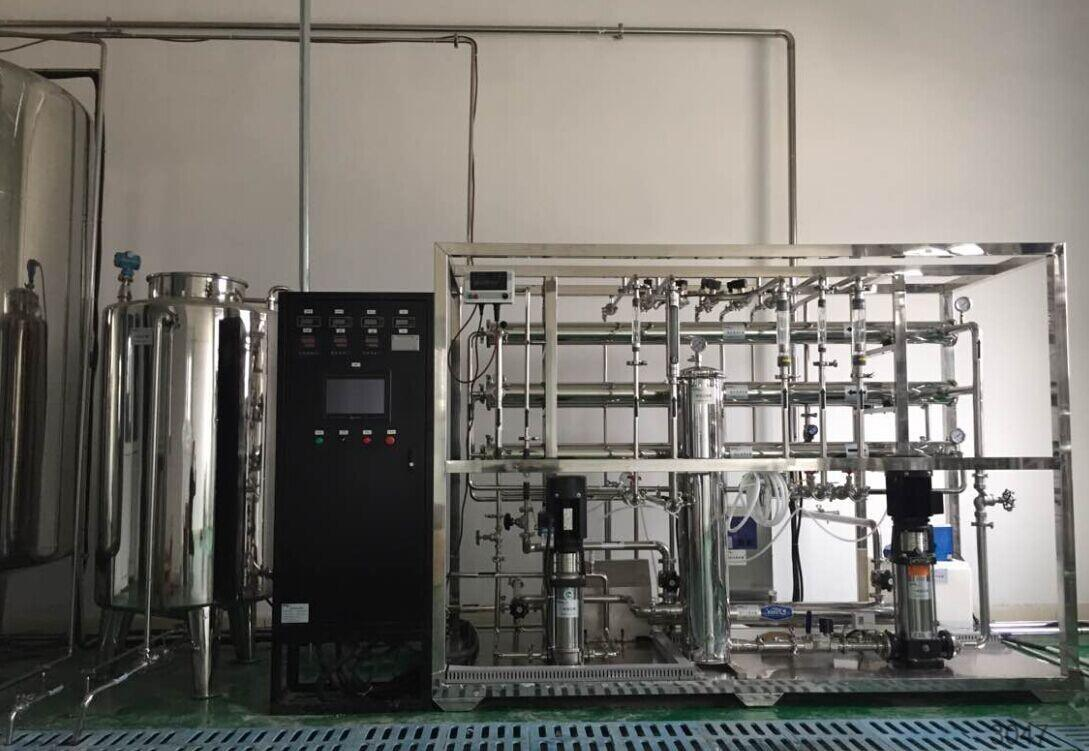 2000L/H Reverse Osmosis RO System Plant Water Treatment