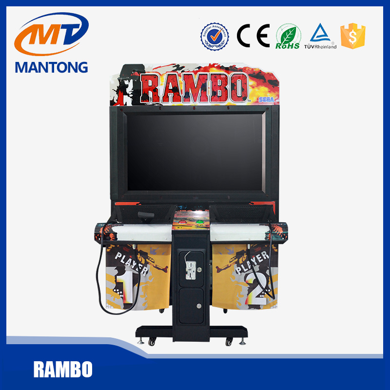 Arcade Game Simulator Shooting Gun Machine for Rambo