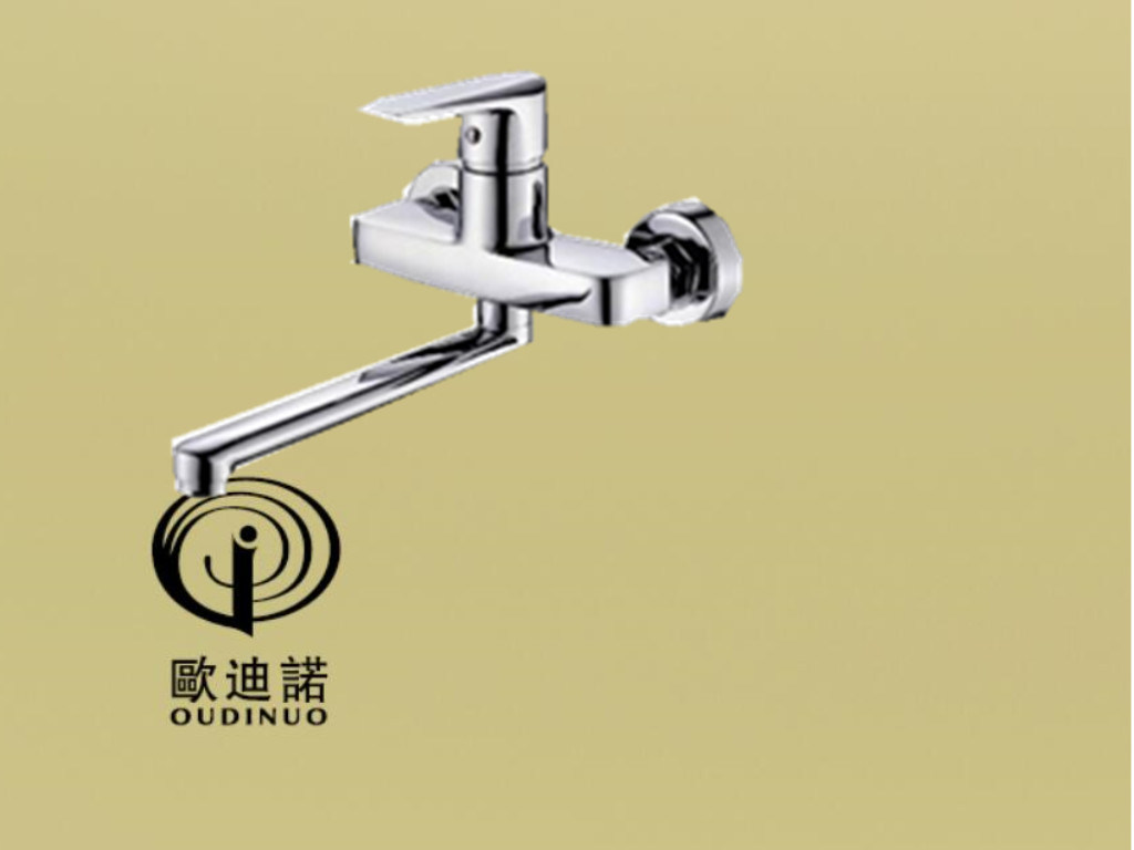 Brass Sinlge Lever Kitchen Faucet Mixer Odn- 69719-1