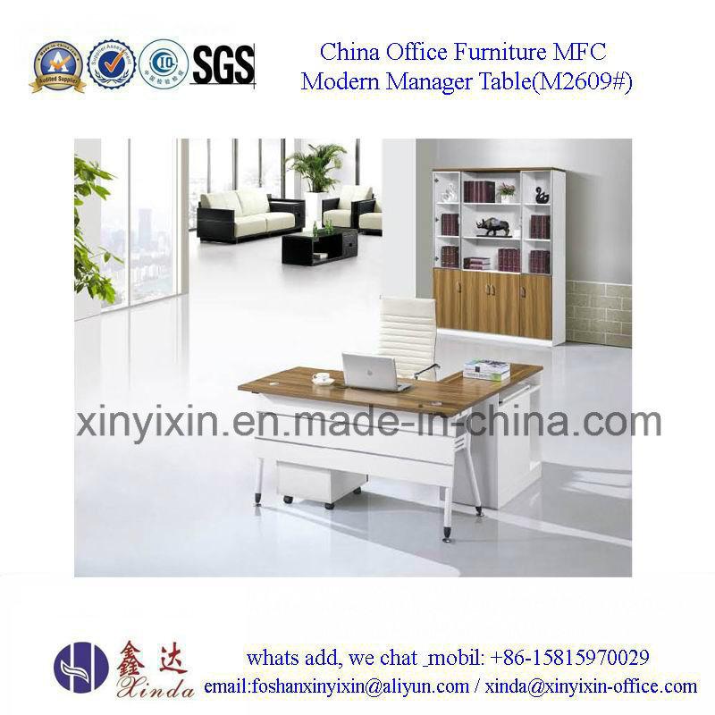Guangzhou Wood Furniture Metal Legs Executive Office Desk (M2601#)