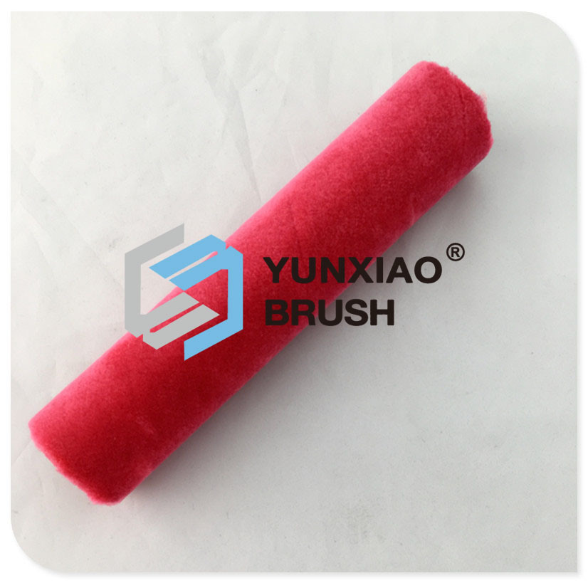 Mix Fabric Paint Roller Brush with Plastic Handle Painting Tools