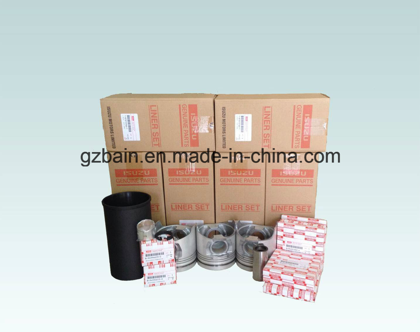 4HK1/6HK1 Liner Kit /Set for Isuzu Excavator Engine Part Manufature