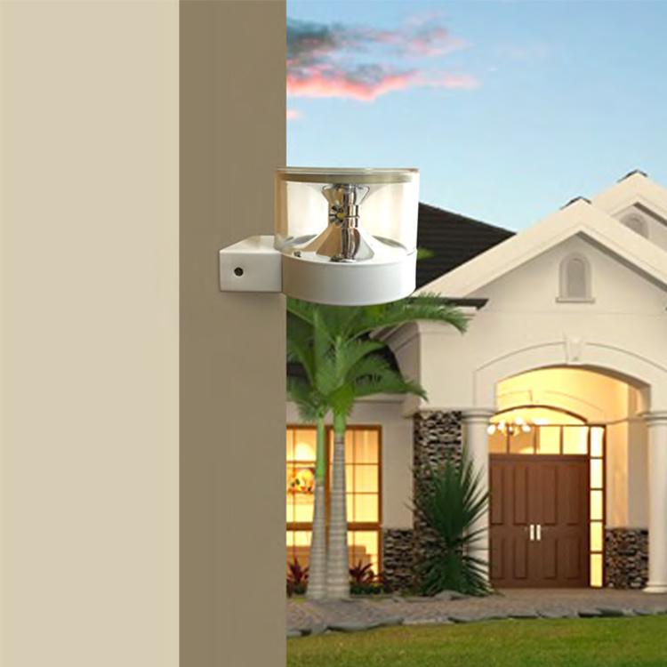 Ce RoHS Outdoor Solar Power LED Wall Light for Garden