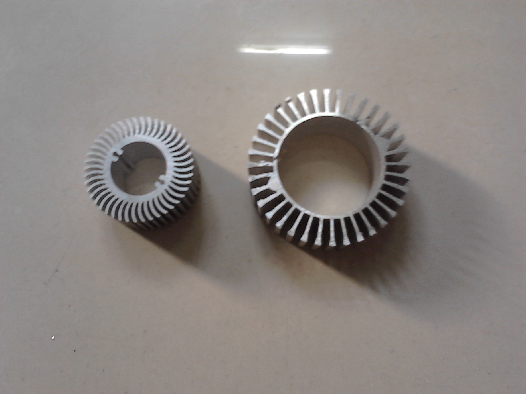 Round Aluminium Heat Sink with Different Design
