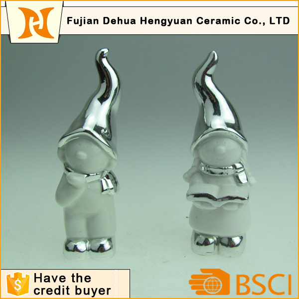 Wholesale Showpiece Handmade Ceramic Figurine