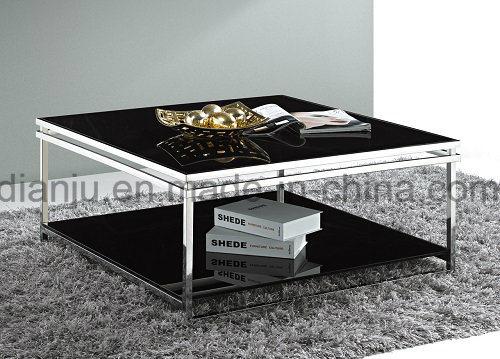 Modern Home Furniture Glass Coffee Table (CT021#)