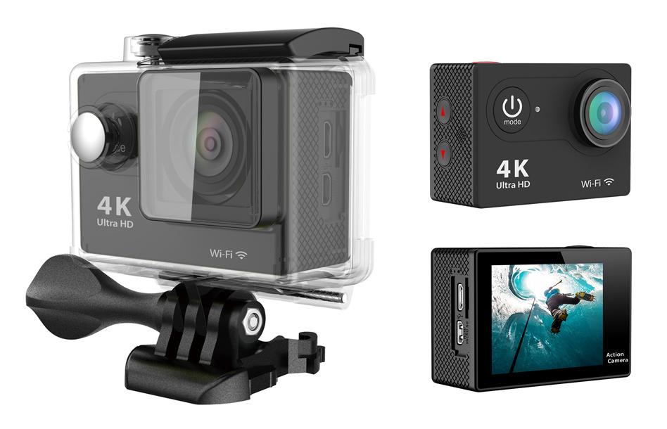 Action Digital Camera Camcorders WiFi Sport DV Waterproof Camera