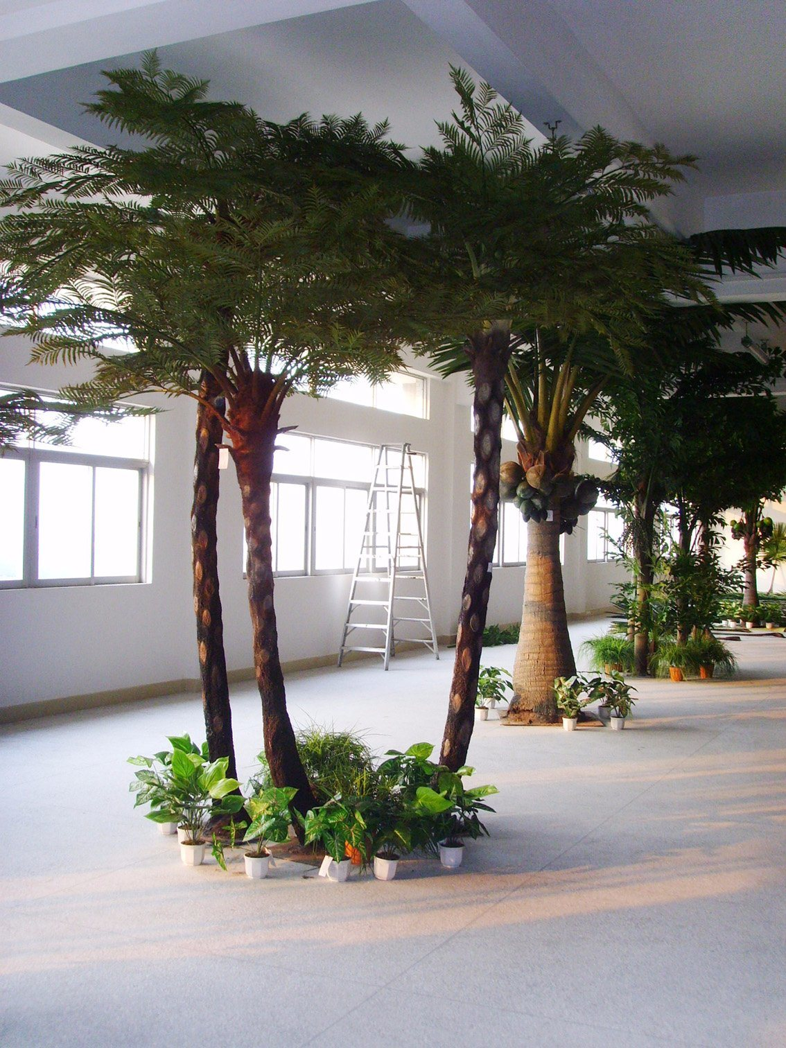 Large Faux Cyathea Trees for Indoor Decoration