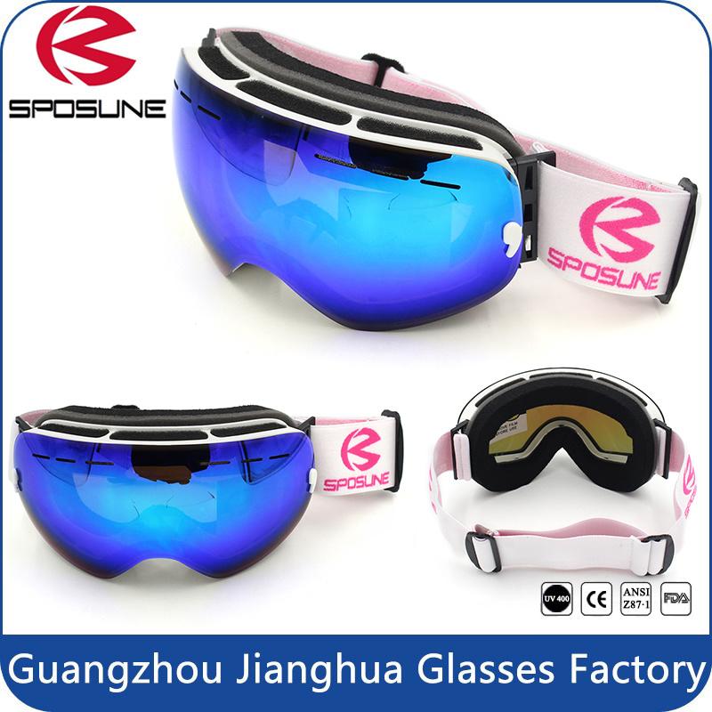 Factory Wholesale HD Version Anti-Fog Double Lens Comfortable Snowboard Ski Goggles