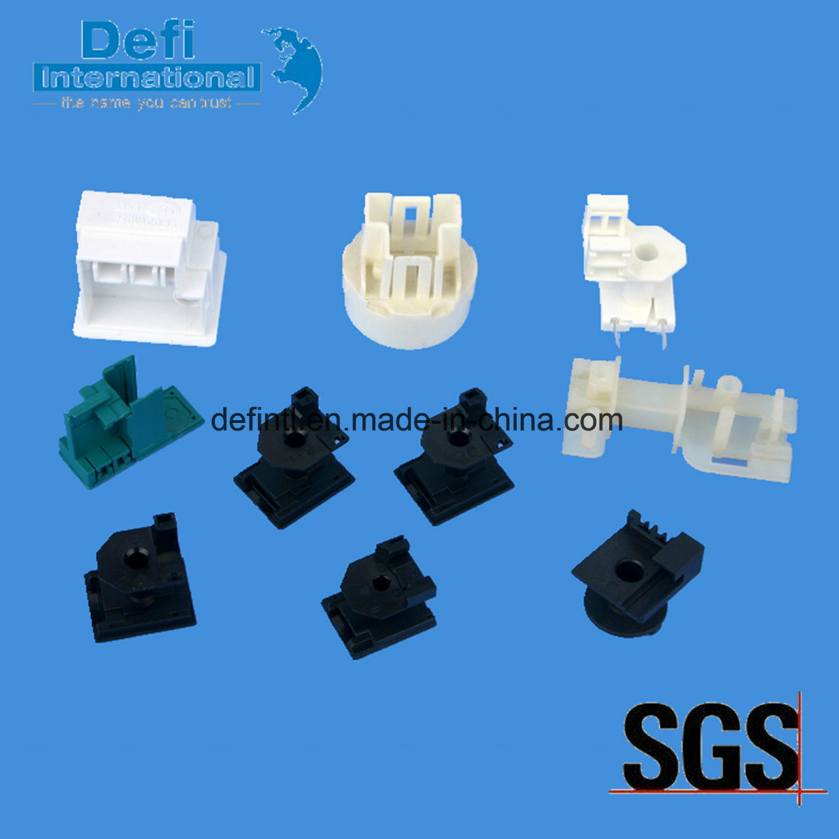 China Plastic Solid State Relay Bobbin for Automotive and Electric