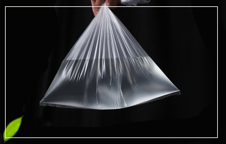 Clear Plastic Food Bag on Roll