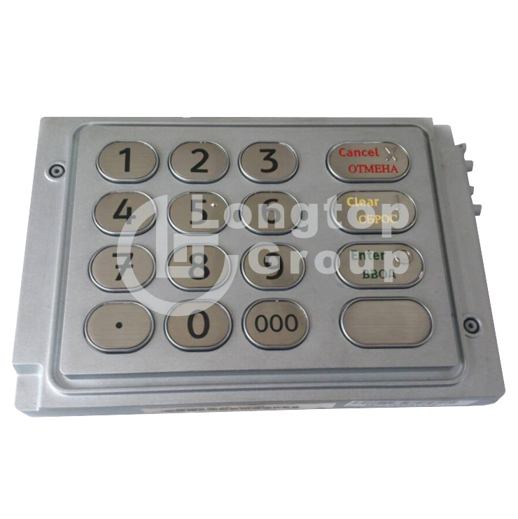 NCR ATM Parts English Russian Version Uepp Keyboard 009-0027345 (4450742150)