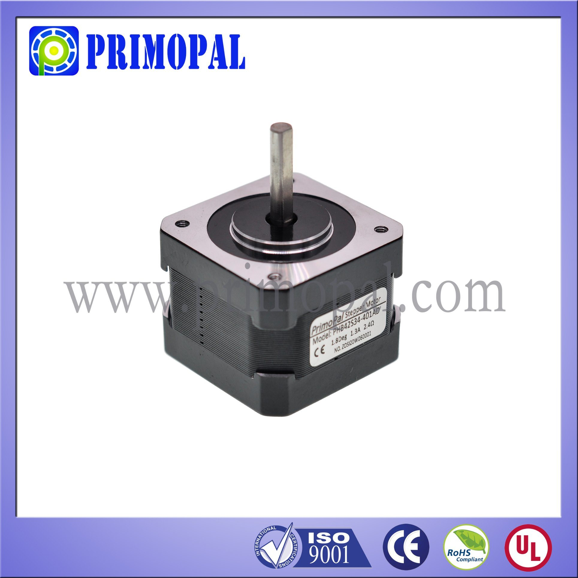 High Quality NEMA 17 Stepper Motor for 3D Printer
