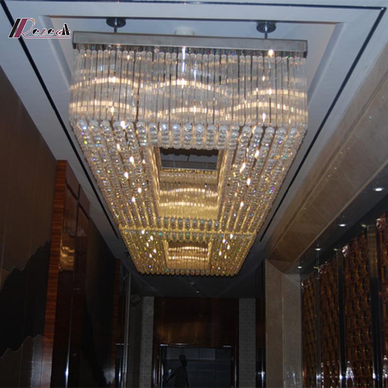Crystal Hospitality Lighting for Hotel Decoration