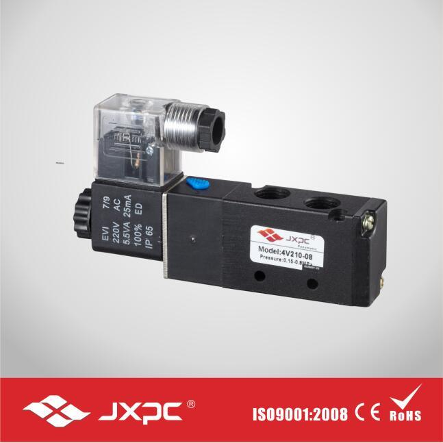 5 Way Air Compressor Magnetic Solenoid Valve
