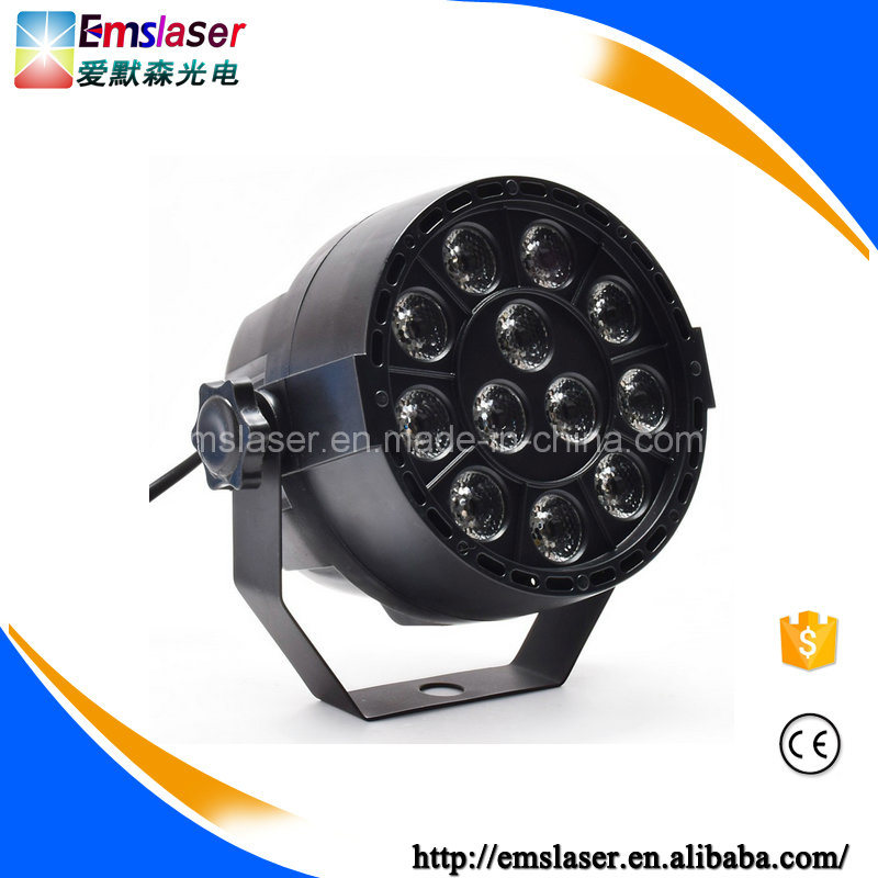 12PCS 1W LED Mini PAR Lights RGBW Stage Light Disco Party Light