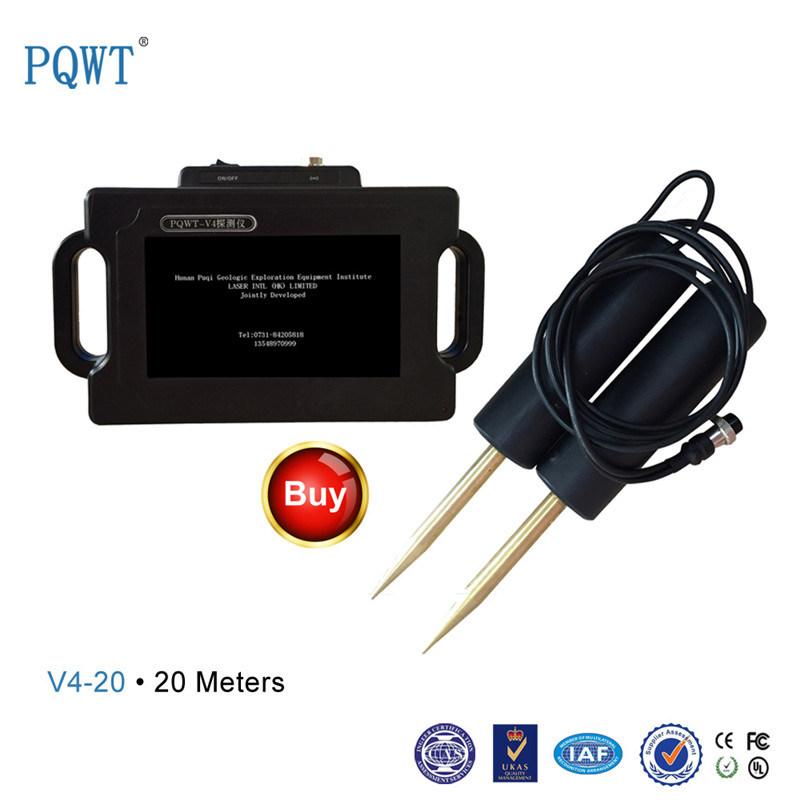 V4-20 Long Range Multifunction Handheld Deep Ground Metal Gold Detector