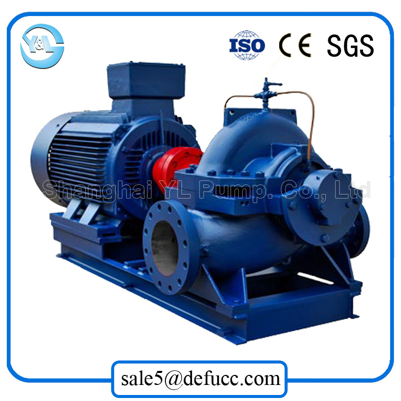 High Efficiency Motor Driven Split Case Water Pump for Waterworks