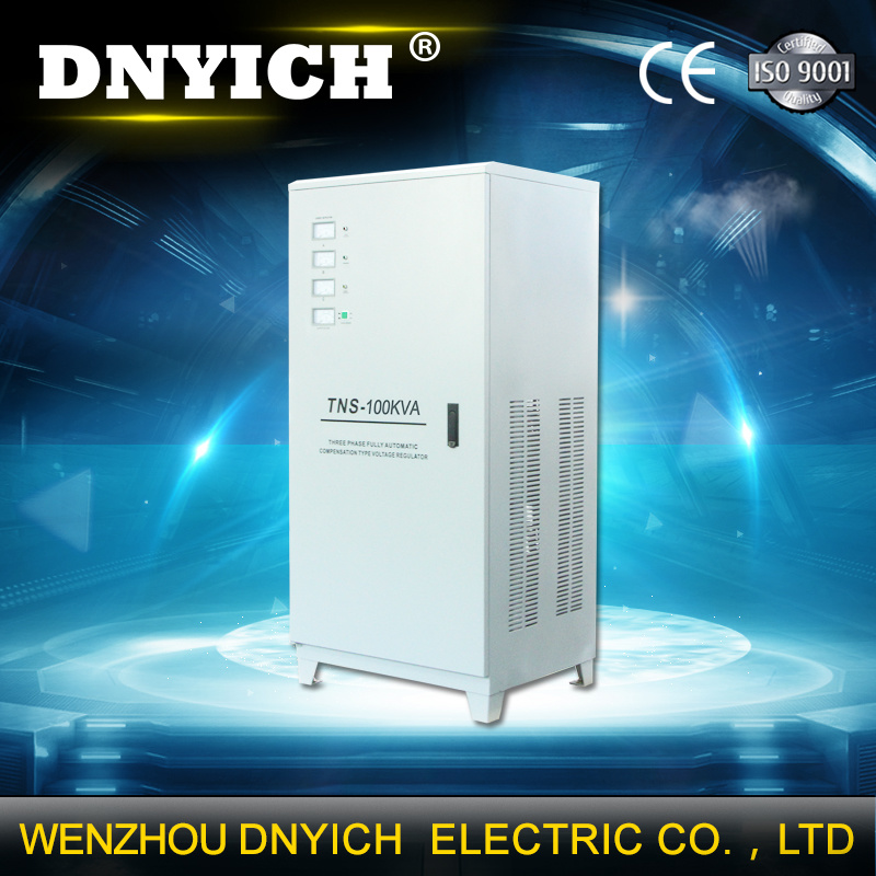 SVC 100kVA 3 Phase 160V~250V Input Voltage Regulator for Industry