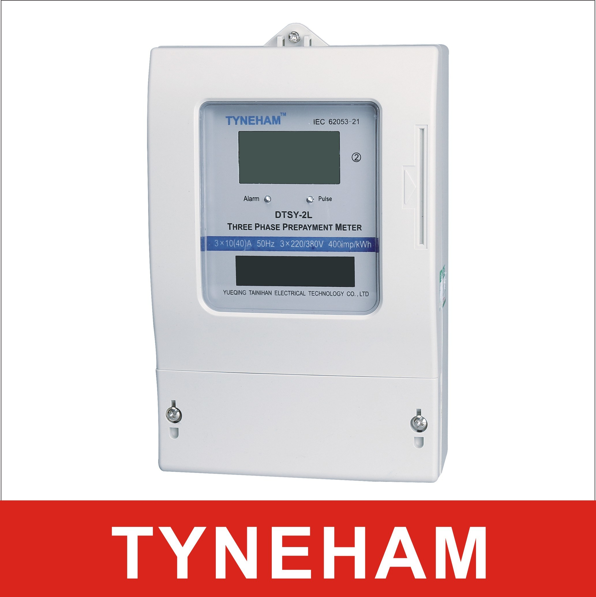 Dtsy-2L Series Three Phase Electronic Prepaid Energy Meter