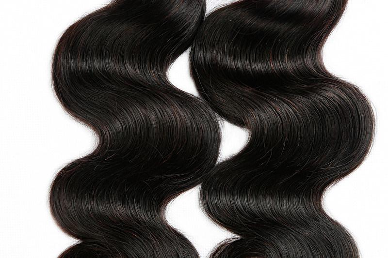 100pct Human Hair Weaving Natural Wave