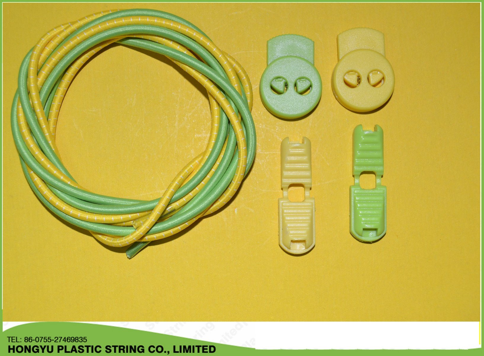High Quality Elastic Shoelace with Lock