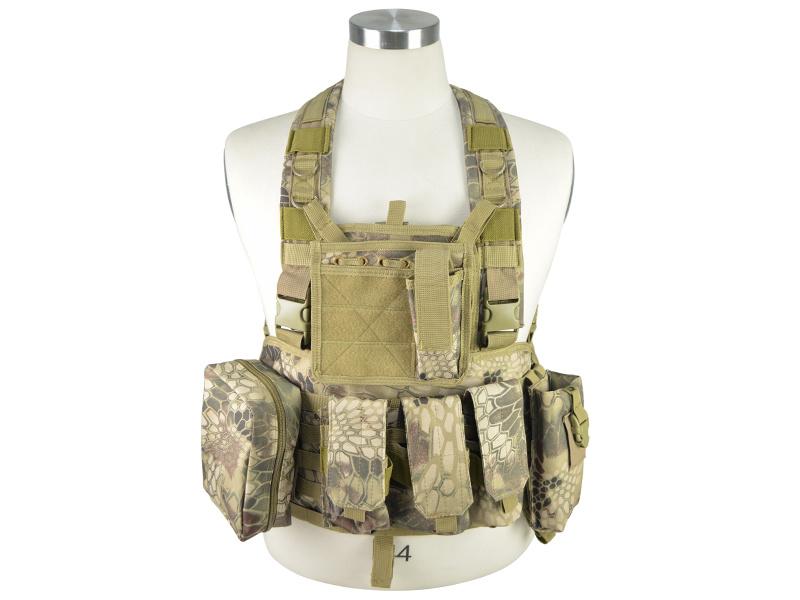 Molle Tactical Assault Plate Carrier Vest (WS20109)