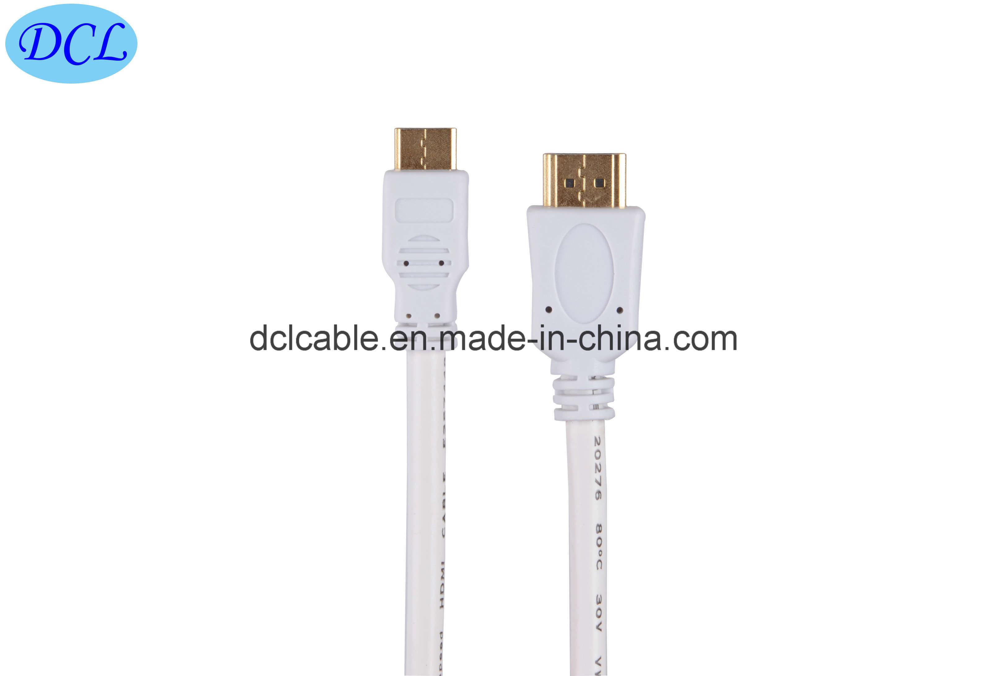 1.4V Mini HDMI Cable Support 3D/1080P