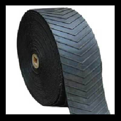 Cheap Patterned Chevron Rubber Conveyor Belt